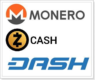Monero・Zcash・DASHなど匿名通貨が抱えるリスク