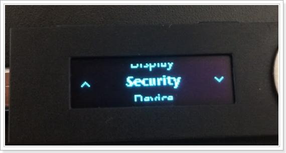 LedgerNanoS(レジャーナノS)のファームアップデート方法セキュリティアップデート1