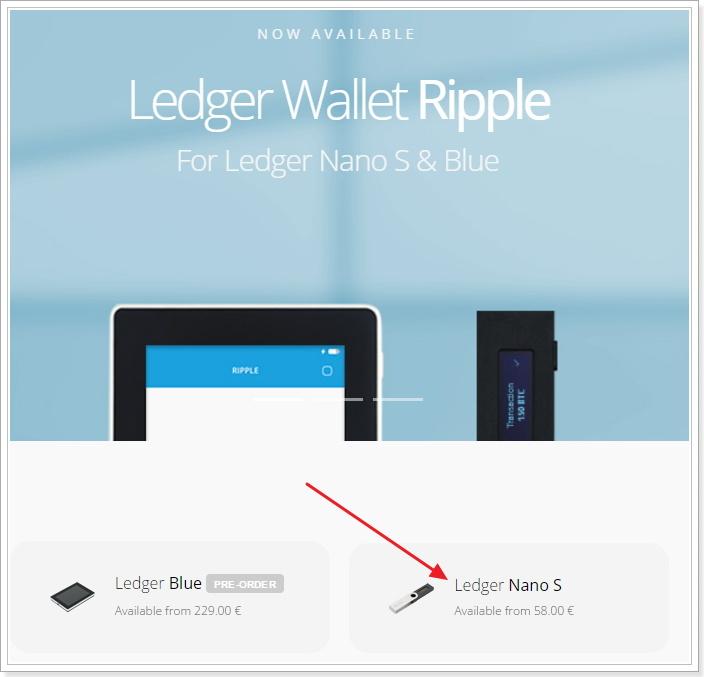 LedgerNanoS 海外公式サイトからの注文方法
