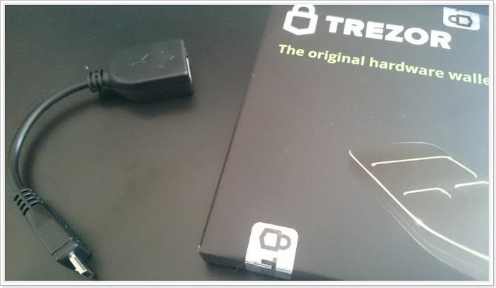 AndroidスマートフォンでTREZOR(ハードウェアウォレット)を使う方法