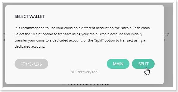 LedgerNanoSでTREZORの仮想通貨復元ビットコインキャッシュ