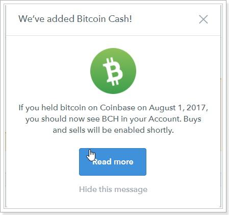 coinbase/GDAXのビット紺キャッシュ付与の案内