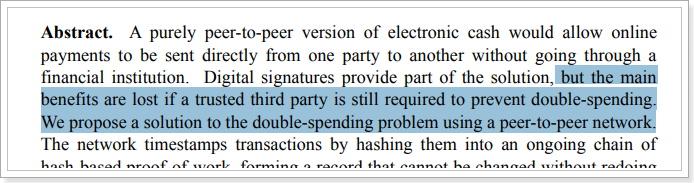 Satoshi論文は、あくまでP2Pの
