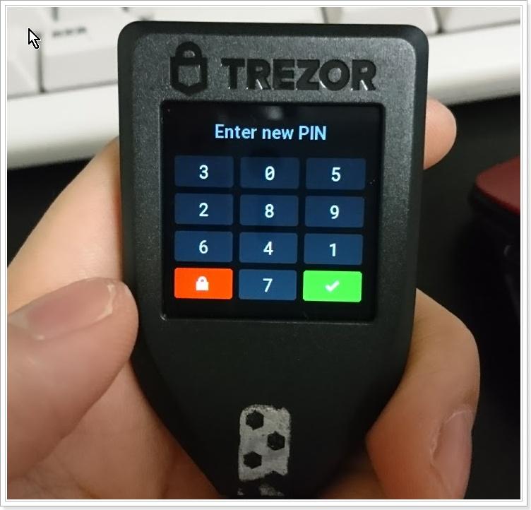 新ハードウェアウォレット「TREZOR T」特徴