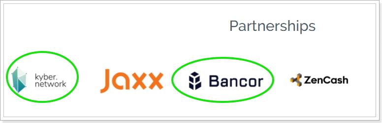 仮想通貨ICOプロジェクトのパートナーシップ