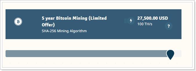 GenesisMiningビットコインマイニング